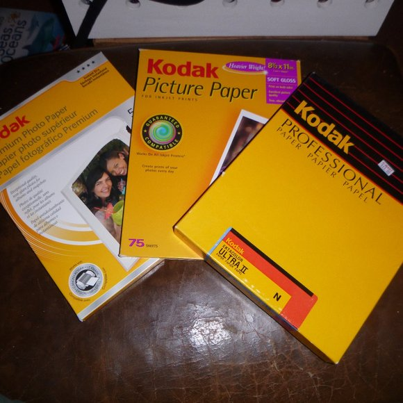 "Other - 3 Packages of 8.5"" x 11"" Kodak Paper"